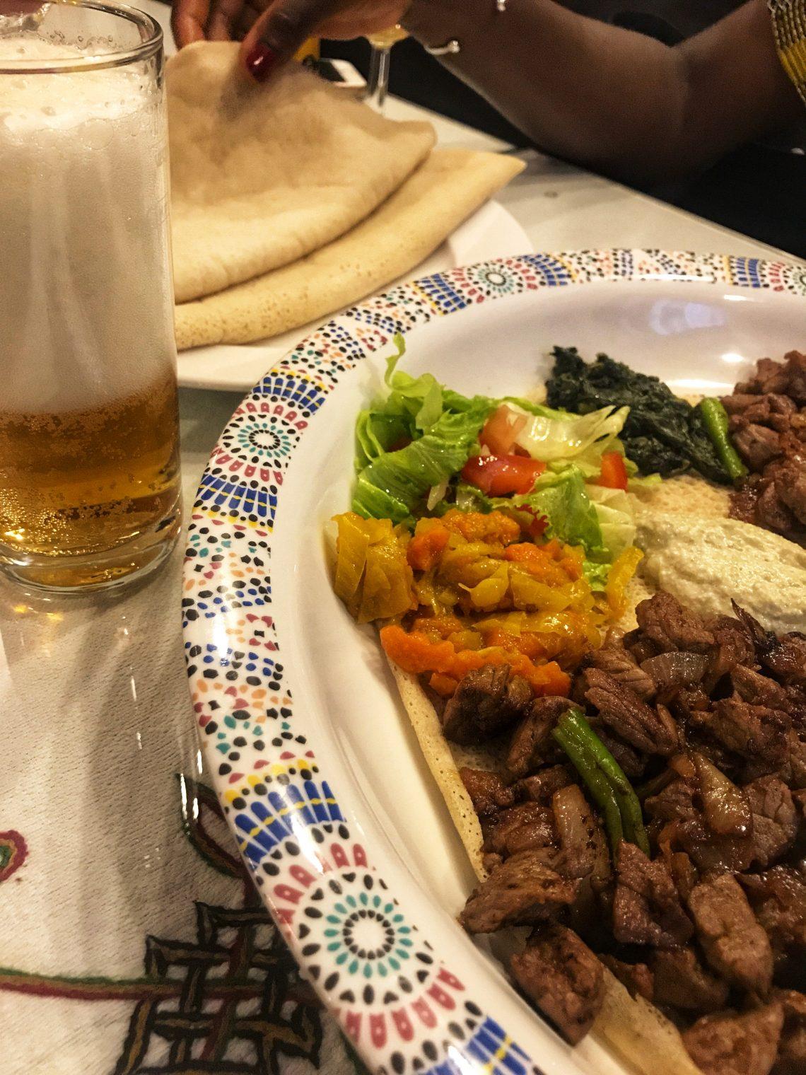 Restaurant éthiopien