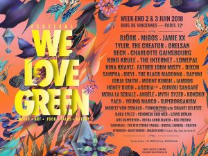 Festival de musique - We love green