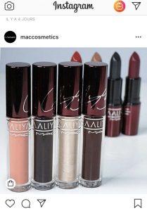 Aaliyah - lipstick gloss