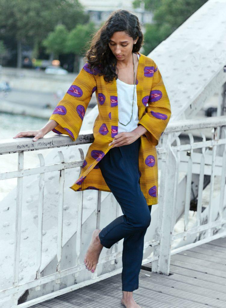 Bamanée - Kimono Hirondelle