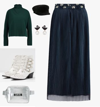 Look 1 : chic