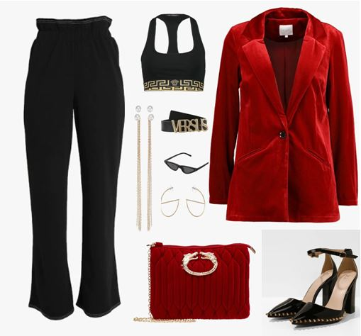 Look 3 : Red
