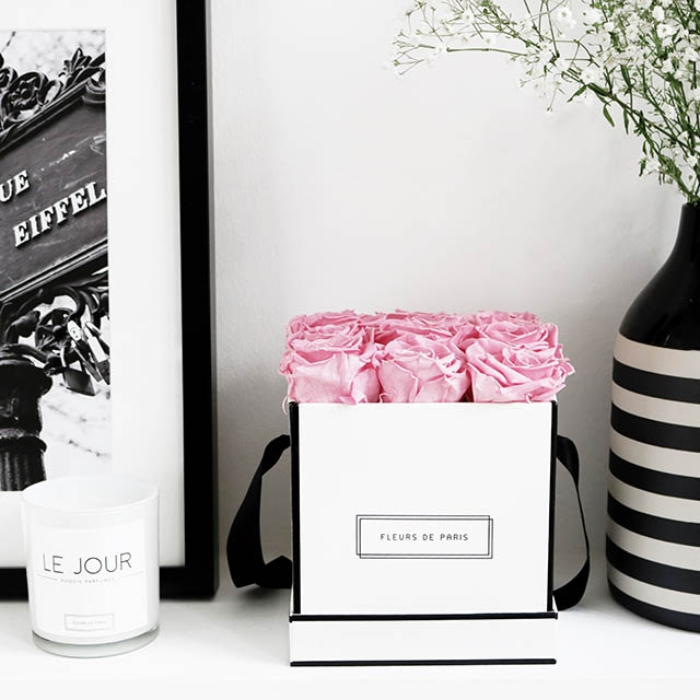 Idée cadeau St Valentin - Fleurs éternelles