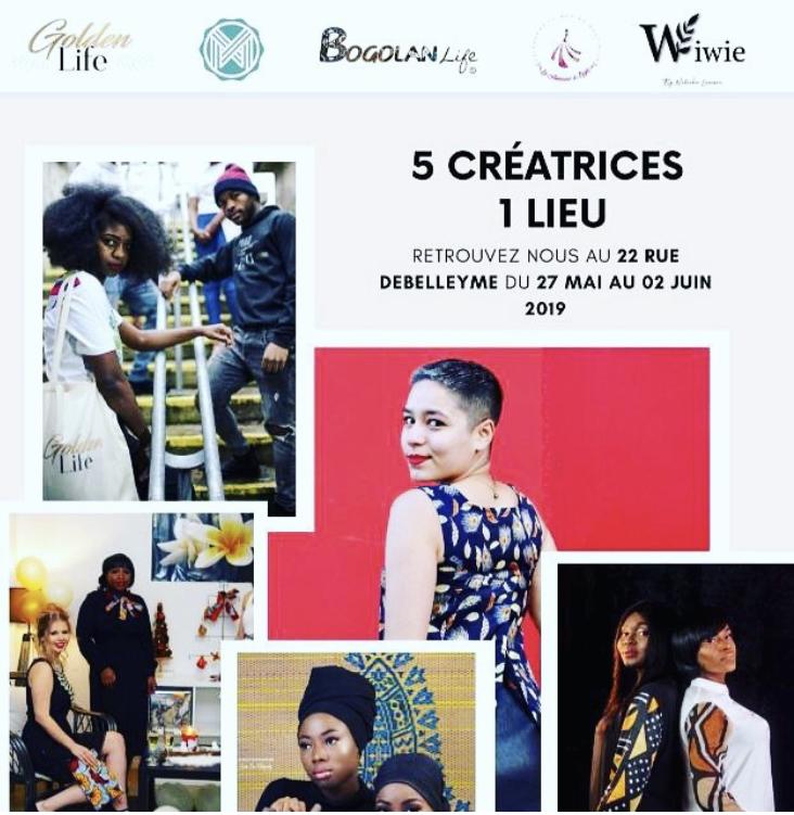 RDV Juin - 5 créatrices 1 lieu