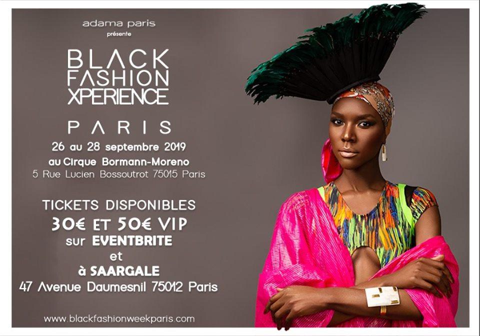 Les RDV de la rentrée - Black Fashion Xperience