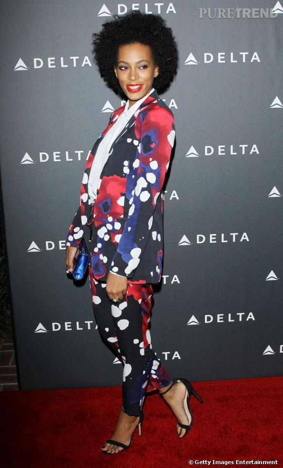 Solange Knowles : 5 looks à adopter - Smoking tendance