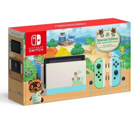Sélection cadeaux de noël - Pack Nintendo switch animal crossing