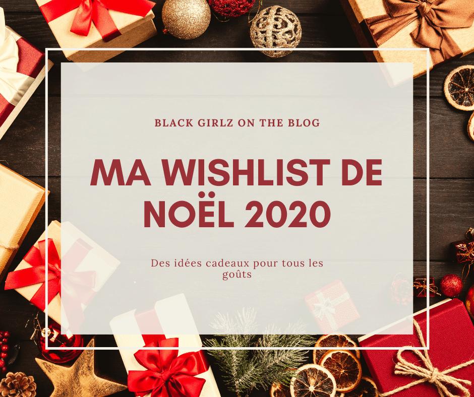 Wishlist de Noël 2020